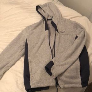 Medium Heather Gray Reebok Jacket